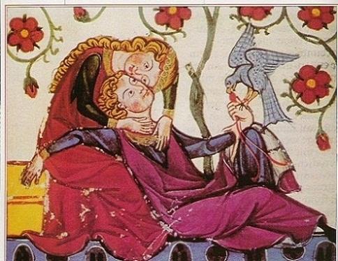 Image result for amor edat mitjana